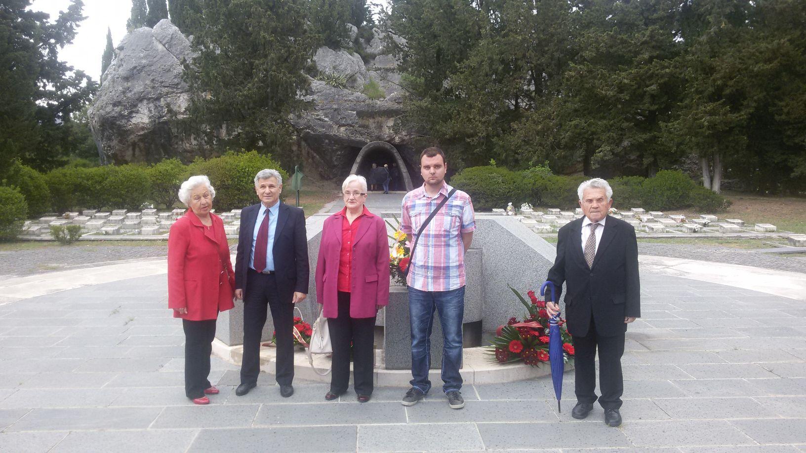 9. maj 2017.- partizansko spomen groblje